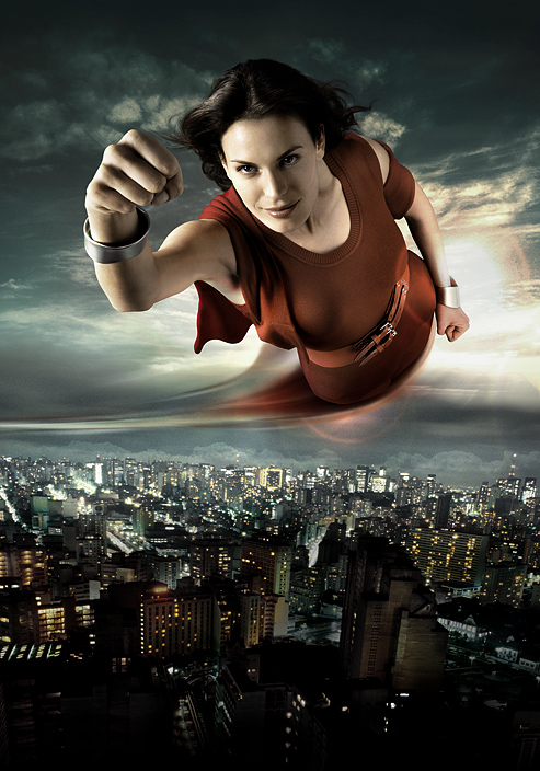 mujer superman